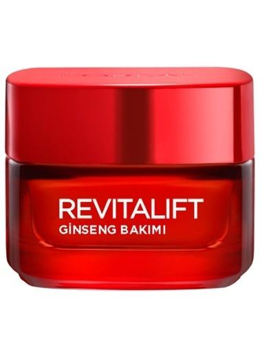 L'Oréal Paris Revıtalıft Sağlıklı Işıltı Ginseng Bakımı Gündüz Kırışıklık Karşıtı + Exstra Sıkılaştırıcı Krem 50 ml Renksiz